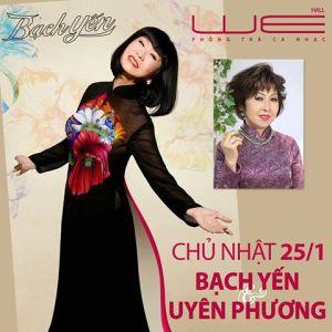 poster chương trinh bach yen uyen phuong tai phong tra WE 25.01.15