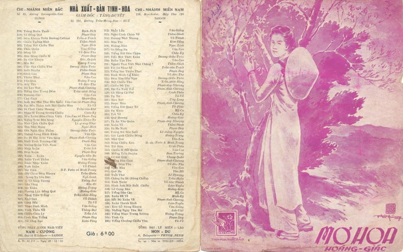 Mơ hoa (Hoàng Giác). Ảnh: amnhacmiennam.blogspot.com