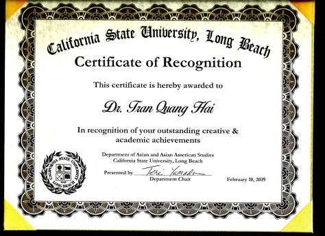 certificate CSU LONGBEACH CALIFORNIA , 10.02.2019 TRAN QUANG HA.jpg SMALL SIZE
